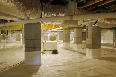 Crawl Space Insulation And Encapsulation Energy One America
